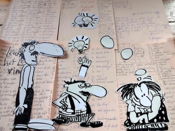 geen idee, brainstormen, brainstormbureau, ja maar, ja, maar, leeg, probleem, probleemstelling, fris, kijken, bedrijfsblindheid, brainstormsessie, stap, moe
