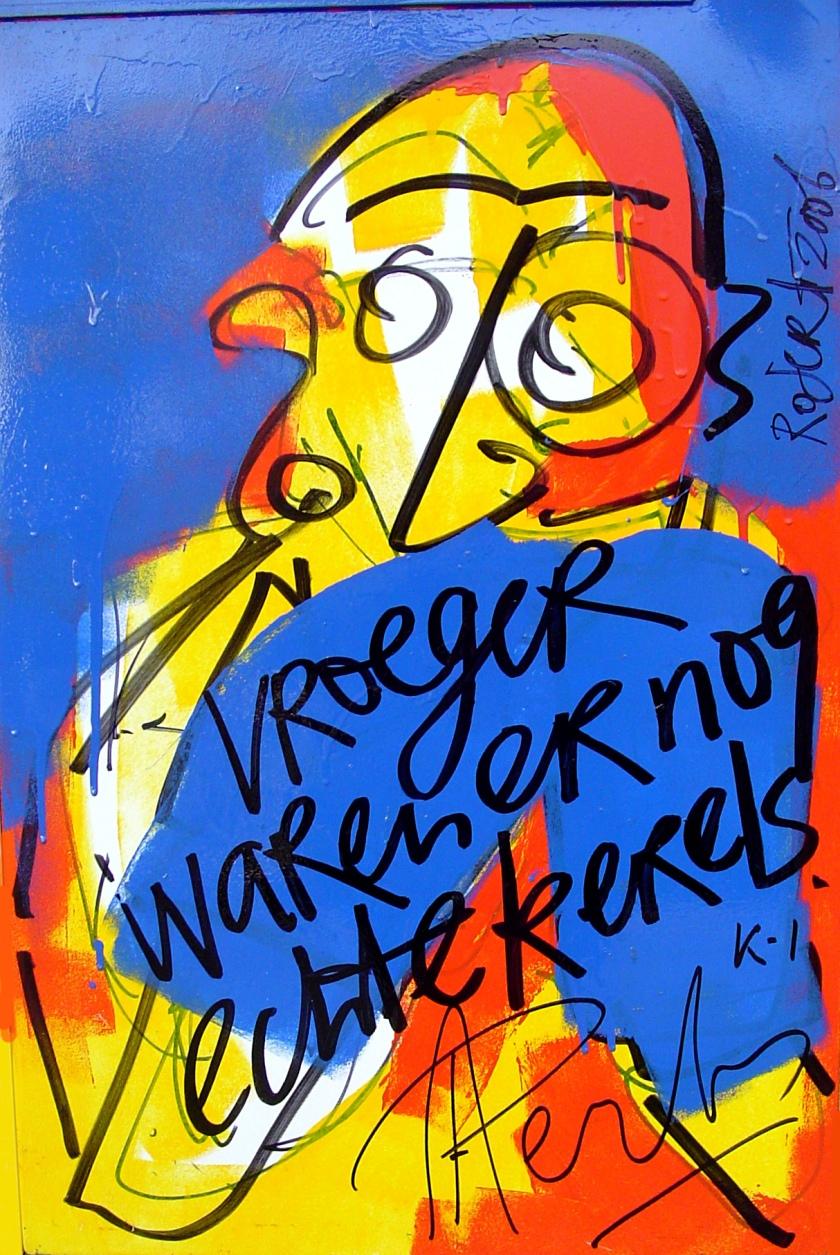 koelkastdeur, harde uitspraak, bn, bn-er, bn-ers, robert, pennekamp, art, artist, amsterdam, famous, dutch