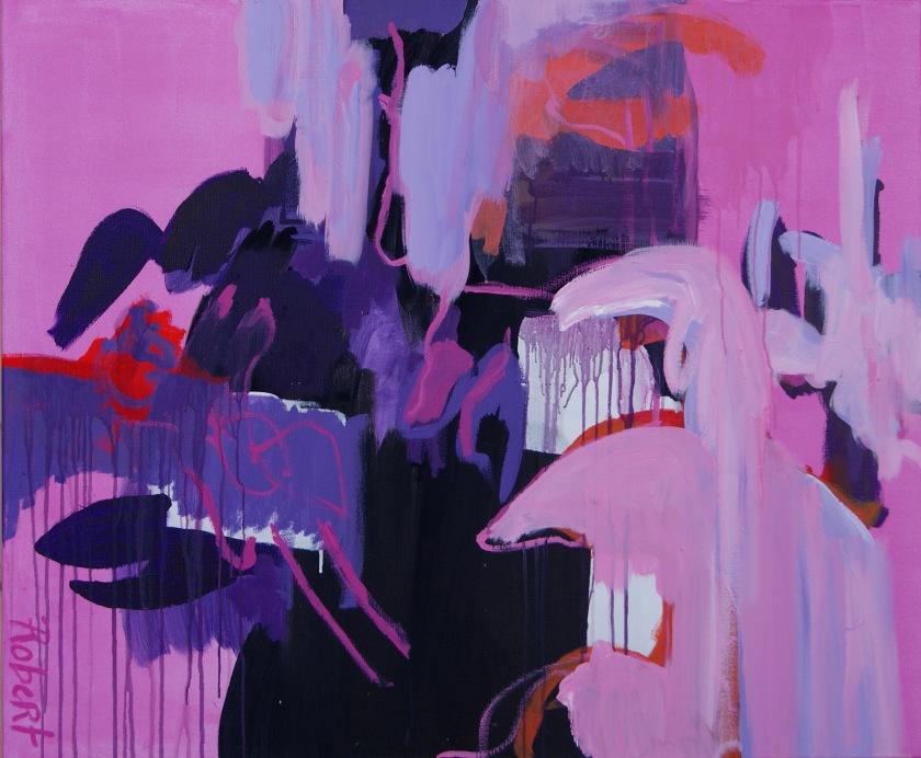 Victory, schilderij, olieverf op linnen, 120 * 100 cm, Robert Pennekamp,referentie code 684