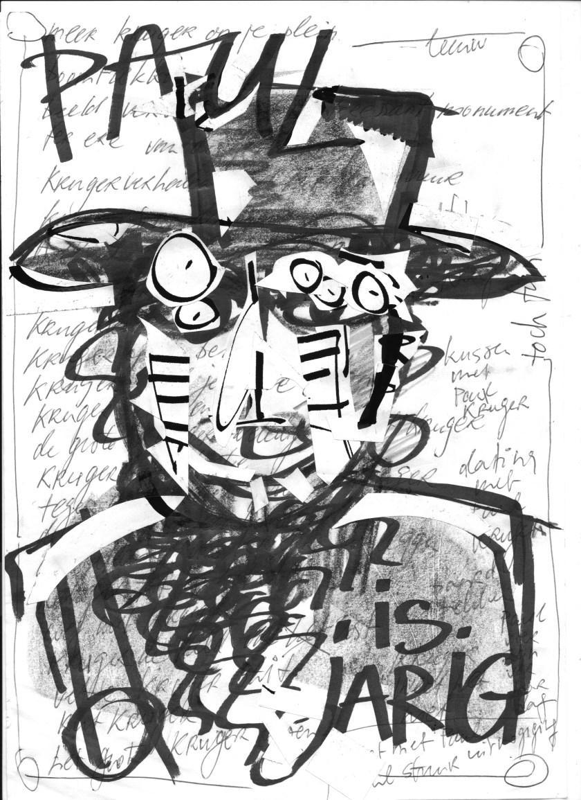 paul, jarig, verjaardag, kunstzinnig transvaal, wij van de wijk, krugerpelien, 17 september 2016