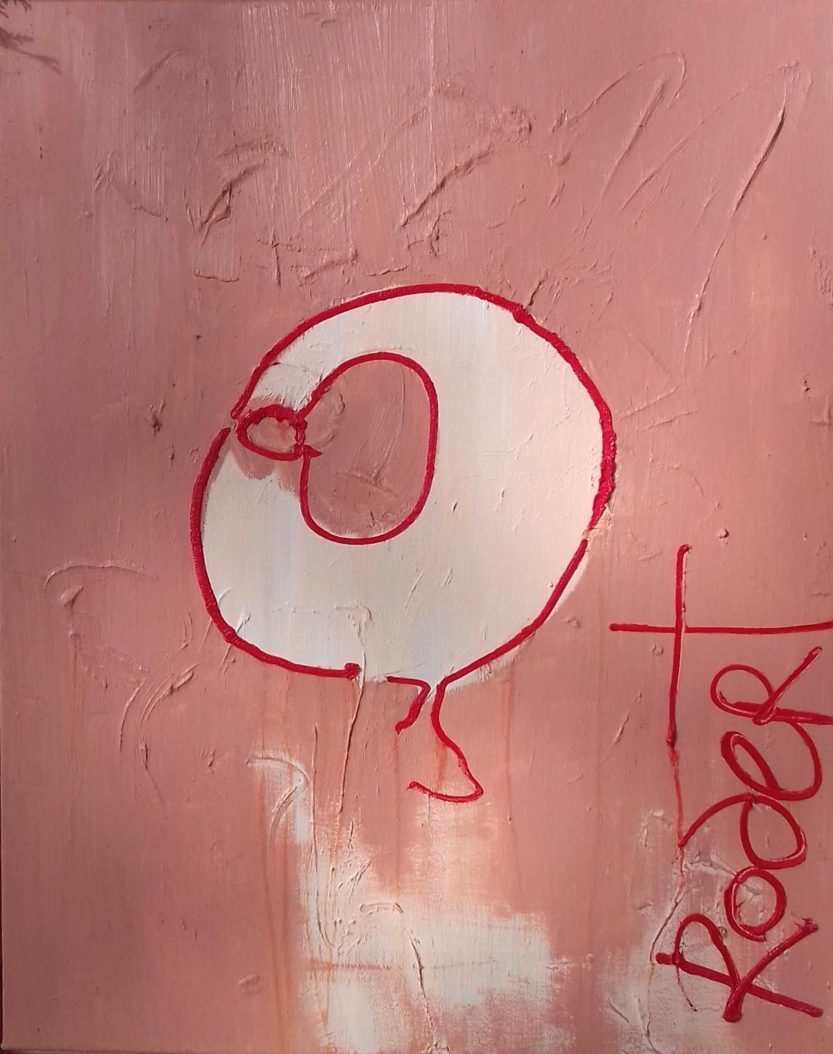 Zwaaien mag, Robert Pennekamp, olieverf op doek, 60 x 80 cm, 2016, valentijnsactie, valentijn, actie, winnen, prijsvraag, 14 februari, kiezen,